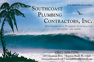Southcoast Plumbing Contractors, Inc., Custom Homes, Remodeling and Commercial Plumbing